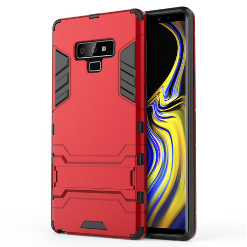 Slim Armour Tough Shockproof Case for Samsung Galaxy Note 9 - Red